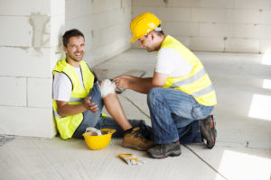 when injured on the job site, contact an experienced worker's comp attorney in Hampton